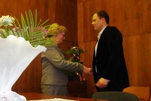 Тарас Келеберда – новообраний голова районної ради