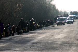 Чин перепоховання захисника України Андрія Саксіна (відео)