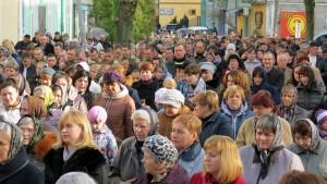 Хресна Хода центральними вулицями міста Кам'янка-Бузька