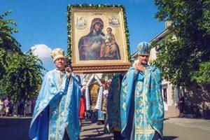 Вшанування ікони Божої Матері Кам'янка-Струмилової